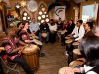 amaAmbush interactive drumming Cape Town